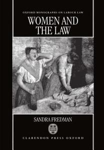 Women and the Law - Sandra Fredman - cover