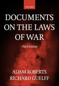 Documents on the Laws of War - cover