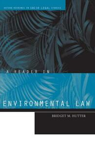A Reader in Environmental Law - cover