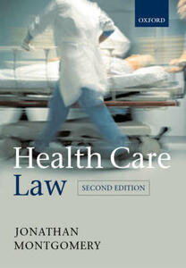 Health Care Law - Jonathan Montgomery - cover