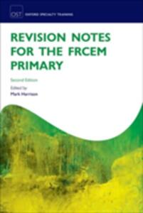 Revision Notes for the FRCEM Primary - cover