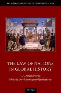 The Law of Nations in Global History - C. H. Alexandrowicz - cover