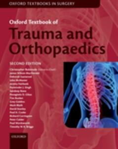 Oxford Textbook of Trauma and Orthopaedics - cover
