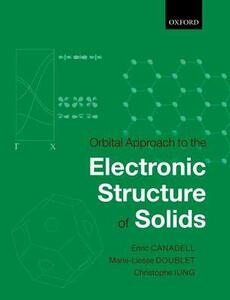 Orbital Approach to the Electronic Structure of Solids - Enric Canadell,Marie-Liesse Doublet,Christophe Iung - cover