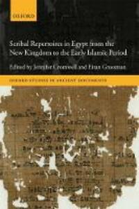 Scribal Repertoires in Egypt from the New Kingdom to the Early Islamic Period - cover
