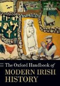 The Oxford Handbook of Modern Irish History - cover