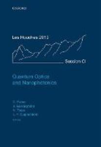 Quantum Optics and Nanophotonics - cover