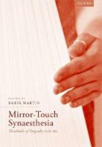 Mirror-Touch Synaesthesia: Thresholds of Empathy with Art - cover