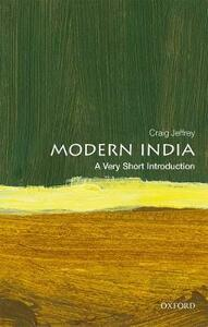 Modern India: A Very Short Introduction - Craig Jeffrey - cover
