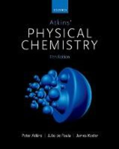 Atkins' Physical Chemistry - Peter Atkins,Julio De Paula,James Keeler - cover