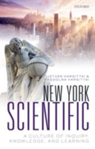 New York Scientific: A Culture of Inquiry, Knowledge, and Learning - Istvan Hargittai,Magdolna Hargittai - cover