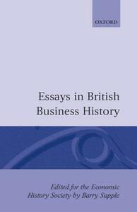 Essays in British Business History - cover