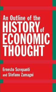 An Outline of the History of Economic Thought - Ernesto Screpanti,Stefano Zamagni - cover