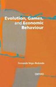 Evolution, Games, and Economic Behaviour - cover