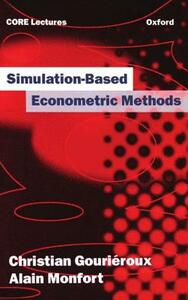 Simulation-based Econometric Methods - Christian Gourieroux,Alain Monfort - cover