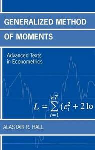 Generalized Method of Moments - Alastair R. Hall - cover