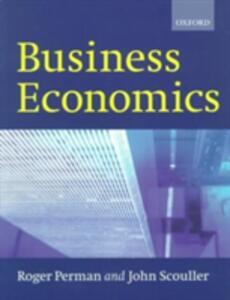 Business Economics - Roger Perman,John Scouller - cover