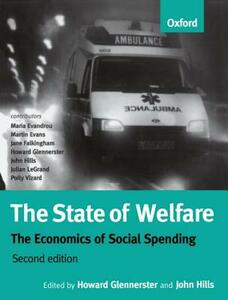 The State of Welfare: The Economics of Social Spending - cover
