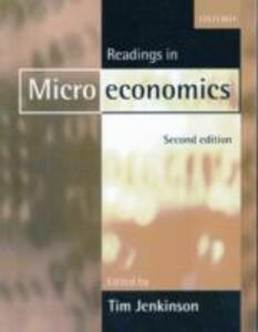 Readings in Microeconomics - cover