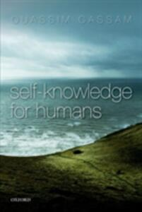 Self-Knowledge for Humans - Quassim Cassam - cover