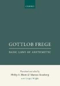 Gottlob Frege: Basic Laws of Arithmetic - cover