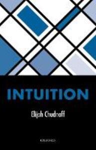 Intuition - Elijah Chudnoff - cover