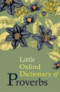 Little Oxford Dictionary of Proverbs - cover