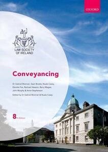 Conveyancing - Sean Brodie,Deirdre Fox,Rachael Hession - cover