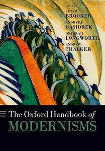 The Oxford Handbook of Modernisms - cover