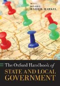 The Oxford Handbook of State and Local Government - cover