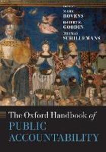 The Oxford Handbook of Public Accountability - cover