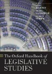 The Oxford Handbook of Legislative Studies - cover