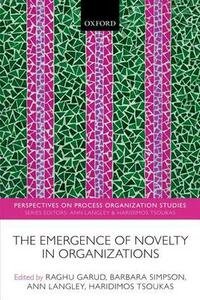 The Emergence of Novelty in Organizations - cover