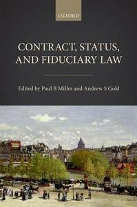 Contract, Status, and Fiduciary Law - cover