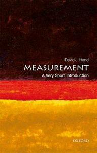Measurement: A Very Short Introduction - David J. Hand - cover