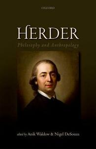 Herder: Philosophy and Anthropology - cover