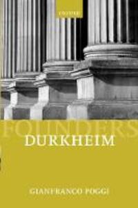 Durkheim - Gianfranco Poggi - cover