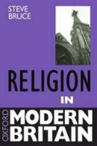 Religion in Modern Britain - Steve Bruce - cover