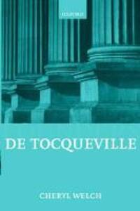 De Tocqueville - Cheryl B. Welch - cover