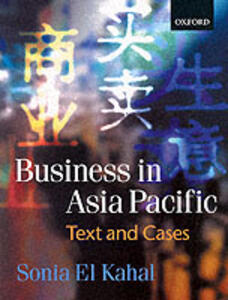 Business in the Asia Pacific - Sonia El Kahal - cover