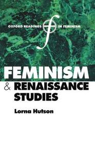 Feminism and Renaissance Studies - cover