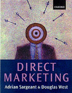 Direct and Interactive Marketing - Adrian Sargeant,Douglas C. West - cover