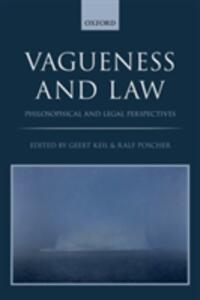 Vagueness and Law: Philosophical and Legal Perspectives - cover