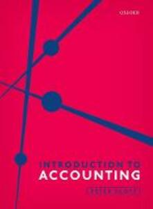Introduction to Accounting - Peter Scott - cover