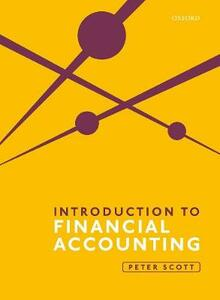Introduction to Financial Accounting - Peter Scott - cover