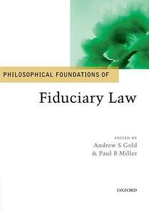 Philosophical Foundations of Fiduciary Law - cover