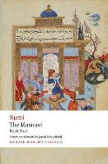 The Masnavi. Book Four - Jalal al-Din Rumi - cover