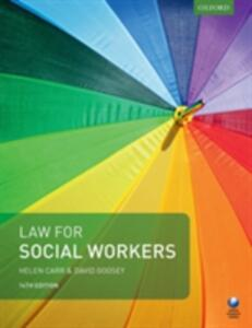 Law for Social Workers - Helen Carr,David Goosey - cover