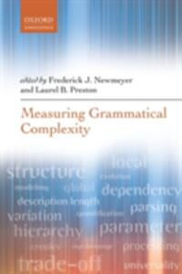 Measuring Grammatical Complexity - cover