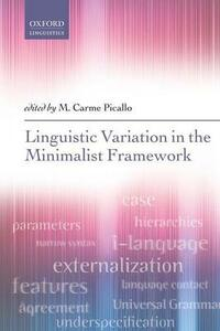 Linguistic Variation in the Minimalist Framework - cover